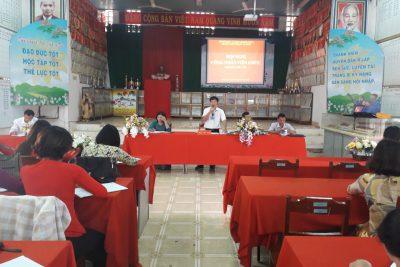 Hội nghị cán bộ, công chức, viên chức năm 2020 trường THPT Phạm Văn Đồng