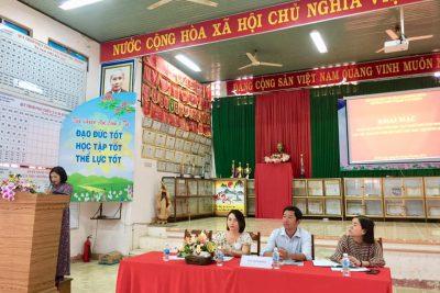 """Khai mạc """" Tuần lễ hưởng ứng học tập suốt đời 2020"""" tại trường THPT Phạm Văn Đồng."""